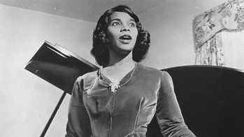 The Internationally Acclaimed Contralto Marian Anderson Was Thrust Into Public Spotlight After A Controversial Rejection From One Of Nations