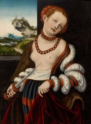 Cranach the Elder Lucretia