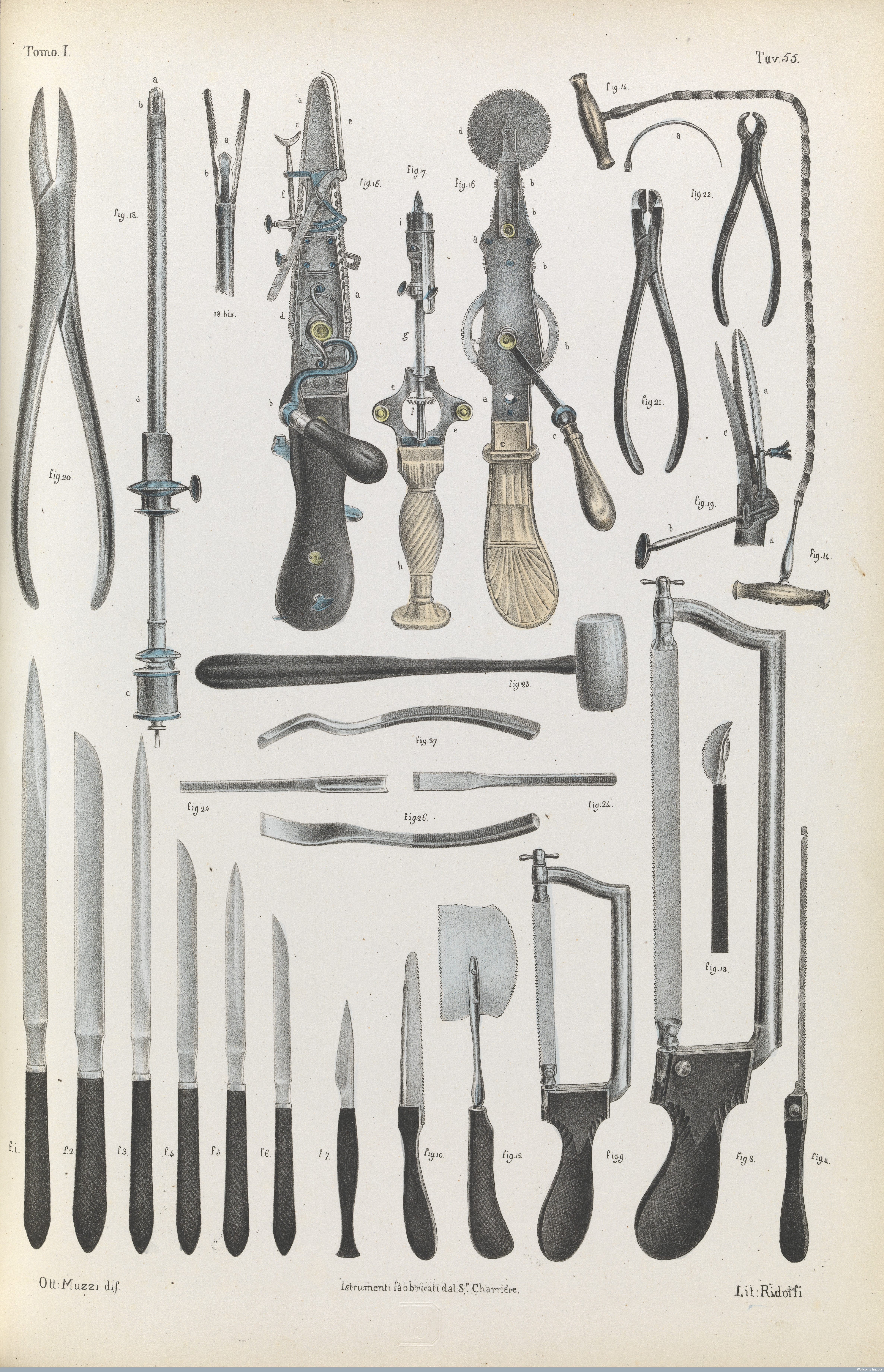 Surgical instruments Wellcome Library London L0078580.jpg